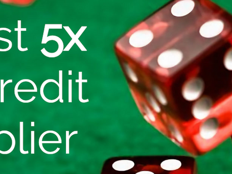[EXPIRED] 5X Tier Credit Multiplier August 26th-28th, 2021!