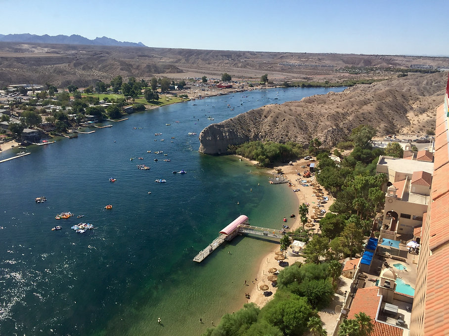 View of the Colorado River from Harrah's Laughlin Casino