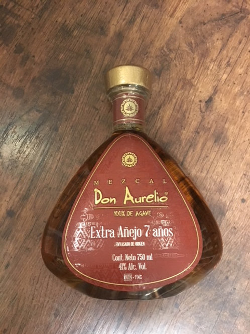 Mezcal Don Aurelio Extra Anejo