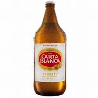 Cerveza Carta Blanca Caguama