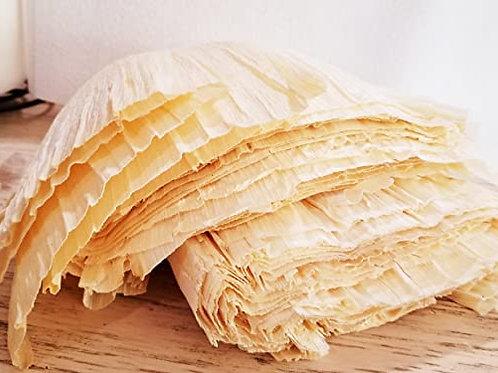 Hojas de maiz para hacer tamales