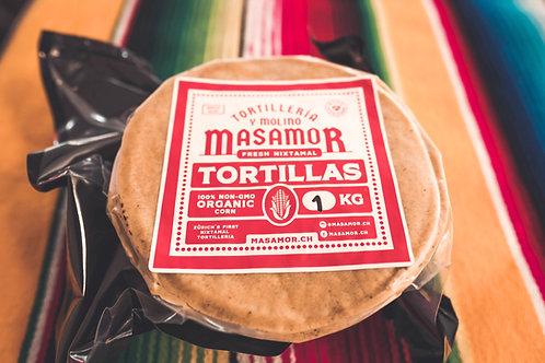 Tortillas de Maiz Masamor