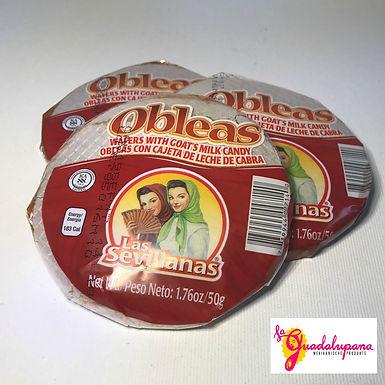 Obleas La Sevillas o Aldama