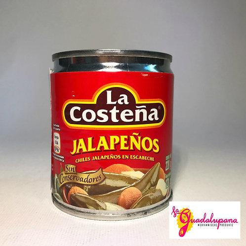 Jalapeños Enteros La Costeña