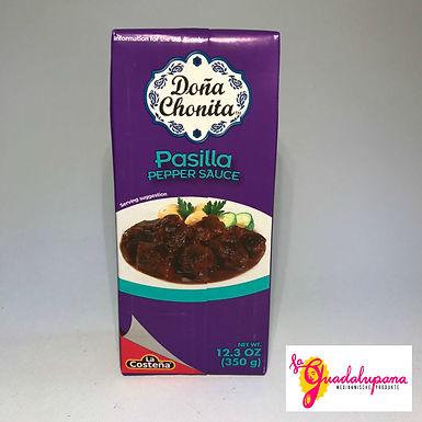 Salsa de Chile Pasilla Doña Chonita