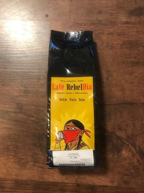 Kaffeebohnen gemahlen Café RebelDia