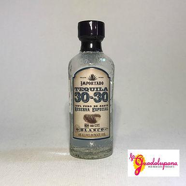 Tequila 30-30 Blanco mini