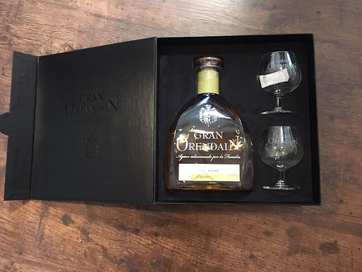 Tequila Gran Orendain Añejo con copas