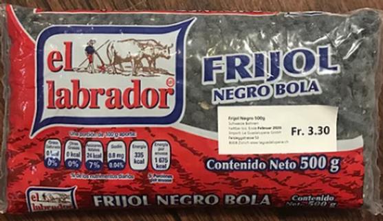 Frijol Negro El Labrador
