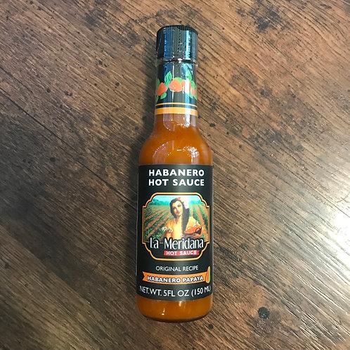 Salsa Habanero Papaya La Meridana