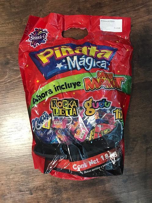 Bolsa Dulces surtido para Piñatas Sonrics