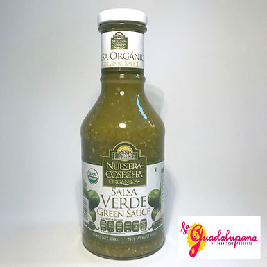 Salsa Verde Organica San Miguel