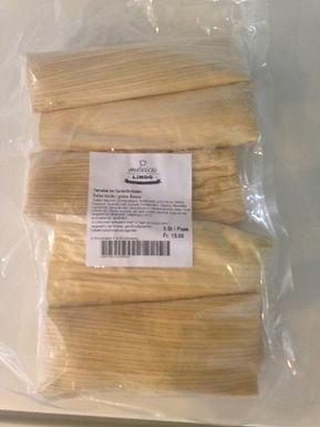 Tamales mit Fleisch/ con carne
