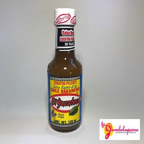 "Salsa Habanera ""Kutbil-ik"" El Yucateco"