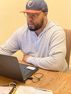 Jermaine working from home.jpg