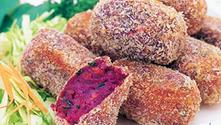[食譜] 沖繩紫薯可樂餅