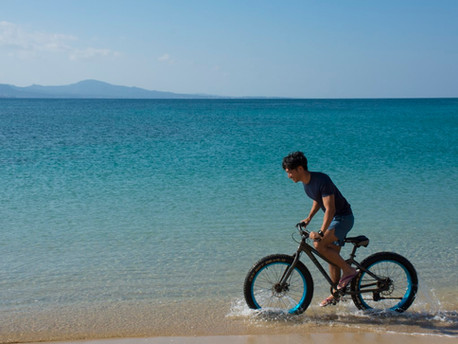 踩單車遊沖繩!!