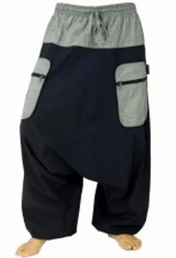 Pantalone cavallo basso