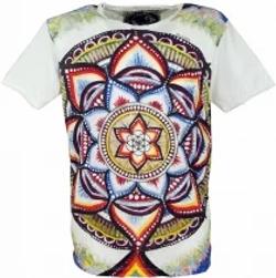 T-shirt mirror doppia stampa