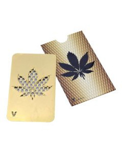 Ginder card Gold Leaf