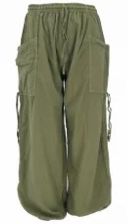 Pantalone cotone multitasche