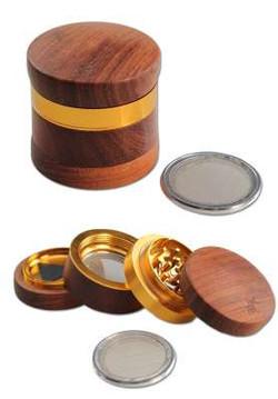 Grinder 4 parti legno