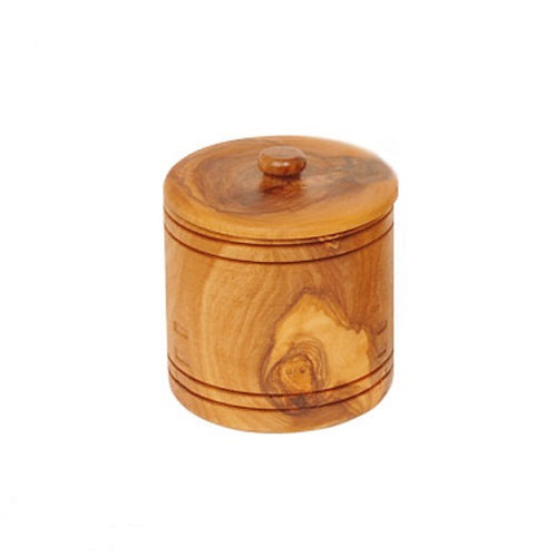 Spice bowl with olive wood