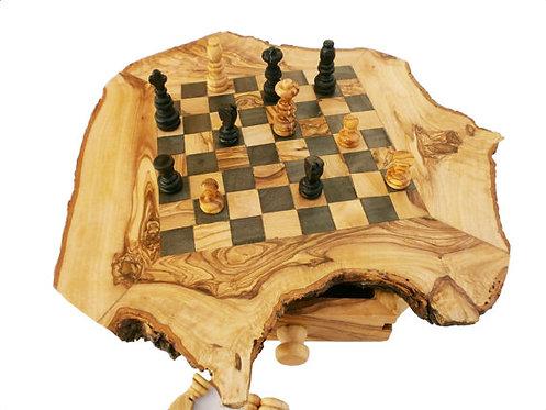 Rustic chessboard