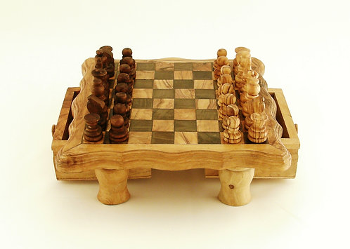 Chessboard with drawer