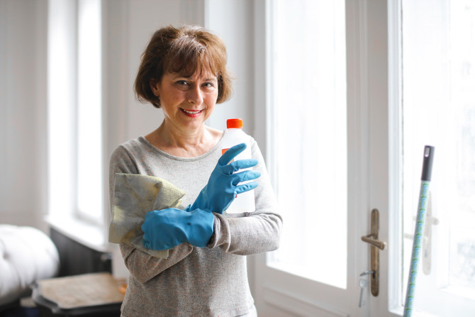 Quick home cleaning tips with coronavirus in mind