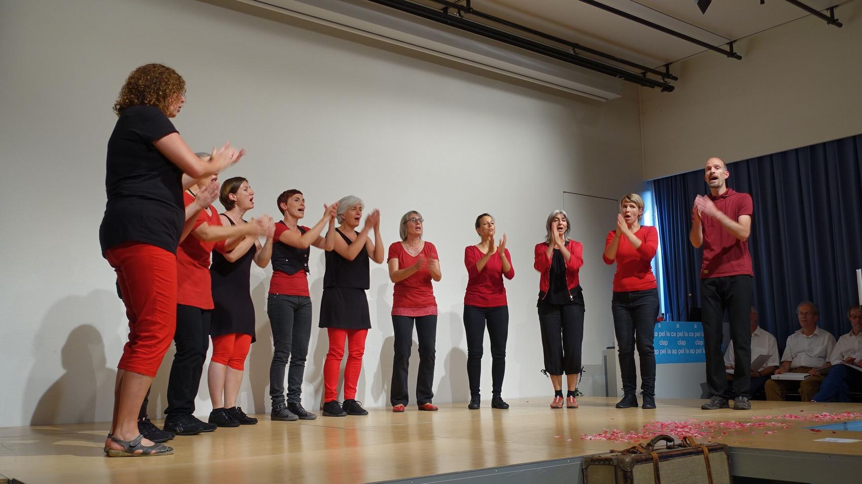 PH Zug mit Zuger Singkreis (Juni 2017)