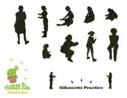 silhouette Practice-01