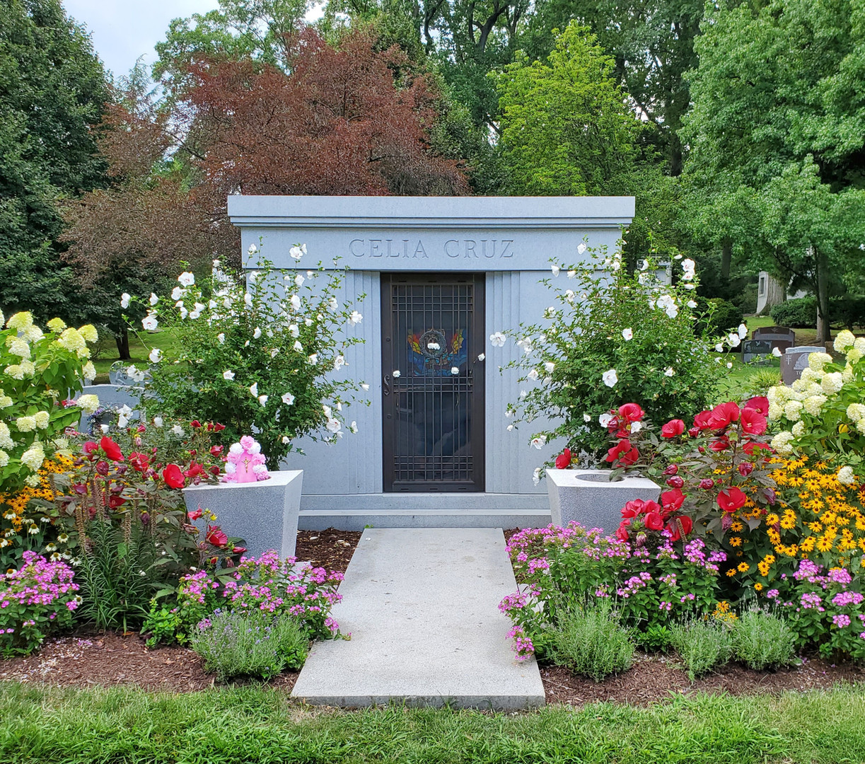 Celia Cruz Private Mausoleum.jpg