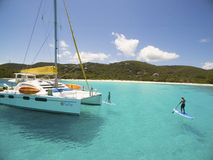 Sail the British Virgin Islands during Covid-19 Sample Itinerary & Protocols