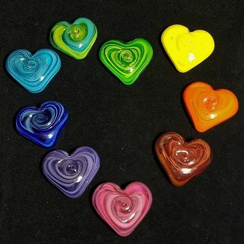 Cast Glass Heart