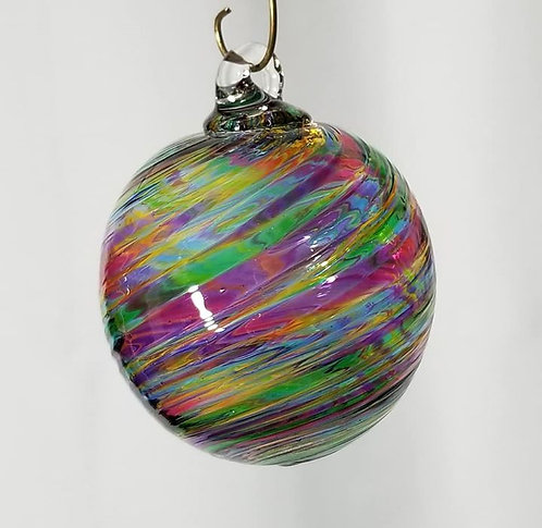 Small Ornament : Striped Multi-color