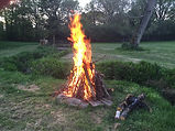 Glamping Bonfire
