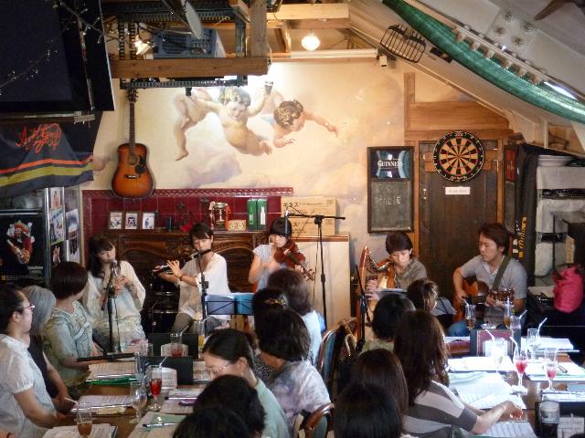 安井マリ氏クラス「パブ・デビュー」(2012年7月)