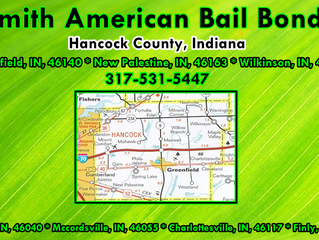 Bail Bonds! Bail Bondsman! 8% Bail Bonds! Hancock County Jail! Hancock County, Indiana! 317-531-5447