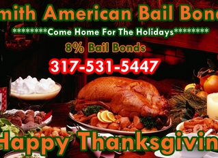Come Home For The Holidays! Bail Bonds 8%! Top Bail Bonds in The State! Transfer Bonds! 317-531-5447