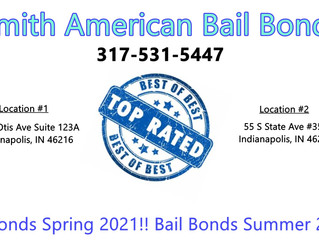 317-531-5447! 8% Bail Bonds Spring/Summer Process 2021! Top Rated Bail Bondsman!! Cheap Bail Bonds!