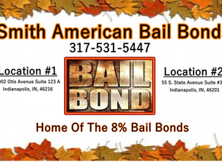Bail Bonds Fall & Winter 2020!   Top Bondsman! 24-Hour Bail Bonding! 8% Bail Bonds! 317-531-5447