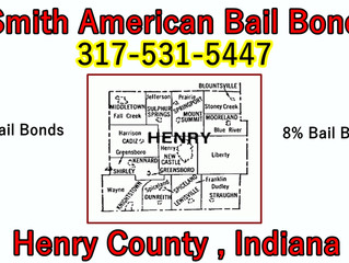 Bail Bonds Henry County, IN!!! 317-531-5447!!! 8% Bail Bonds!!!