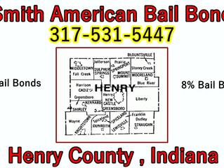 Bail Bonds Henry County, IN!!! 317-531-5447!!! 8% Bail Bonds!!!