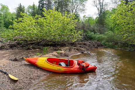 W. Br. Otter River Misery Paddle Tour -