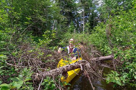 Traverse River Misery Paddle Tour - June