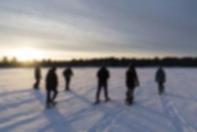 Finlandia Hiking at Paavola Wetlands, Ja