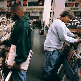 DJ Shadow's Endtroducing album cover