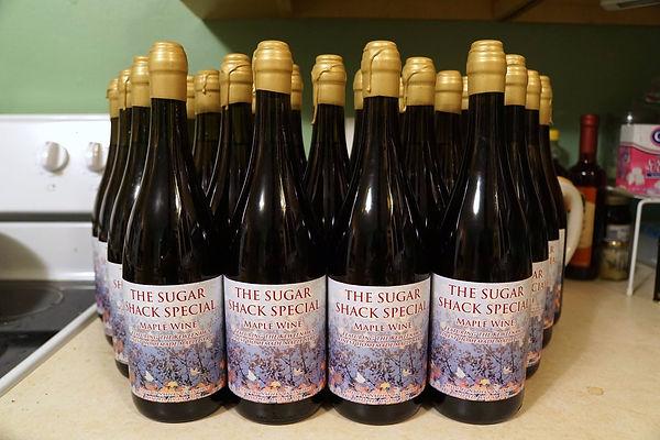 Homemade Michigan Maple Wine