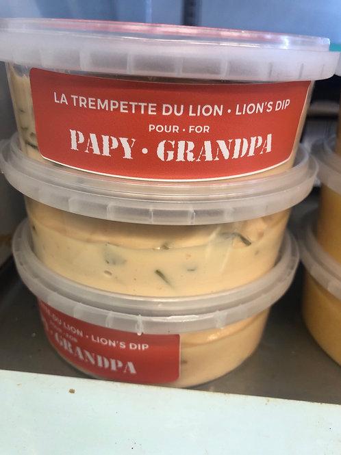 Trempette du lion Papy Grandpa
